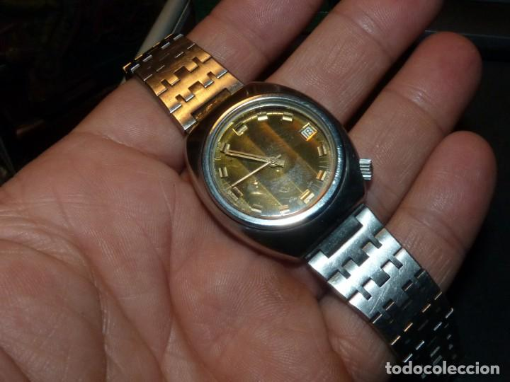 Relojes automáticos: RELOJ SQUALE Y154G BRITSCAR DIVER 20ATM VINTAGE CALIBRE ETA TODO ACERO - Foto 9 - 164974534