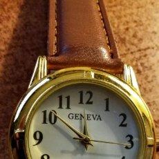 Relojes automáticos: RELOJ GENEVA CON CORREA. NUEVO. Lote 165010822