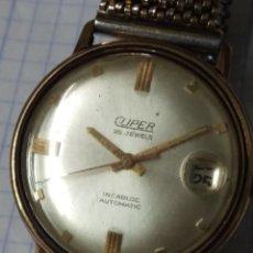 Relojes automáticos: RELOJ VINTAGE CLIPER AUTOMATIC 25 JEWELS. Lote 165027858