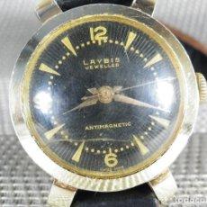 Relojes automáticos: ANTIGUO RELOJ MILITAR DE ALUMINIO AÑOS 50 BUEN ESTADO FUNCIONA LOTE WATCHES. Lote 165172558