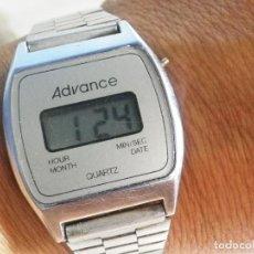 Relojes automáticos: DIFICILISIMO DE ENCONTRAR ADVANCE ELECTRONICO AÑO 1980 FUNCIONA LOTE WATCHES. Lote 165320538