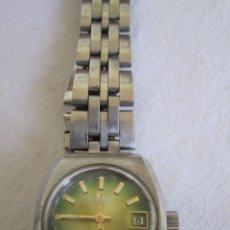 Relojes automáticos: 15-RELOJ CAMY GENEVA-SUPERAUTOMATIC, CALENDAR, SWISS MADE-SRA.-ARMY ORIGINAL CAMY-AÑOS 60 (FUNCIONA). Lote 205781063