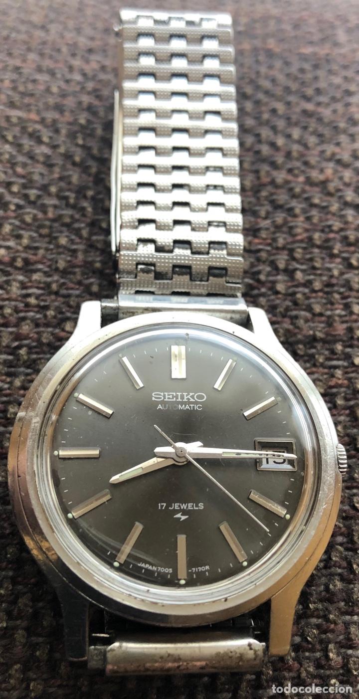 Relojes automáticos: Reloj de pulsera automático de caballero, Seiko - Foto 2 - 165765690