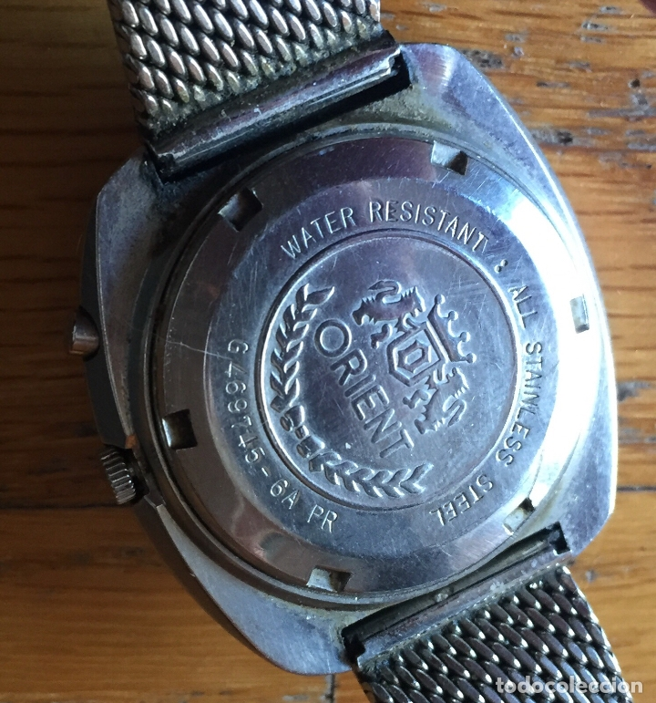 Relojes automáticos: RELOJ ORIENT VINTAGE, 21 jewels LEER - Foto 5 - 165843402
