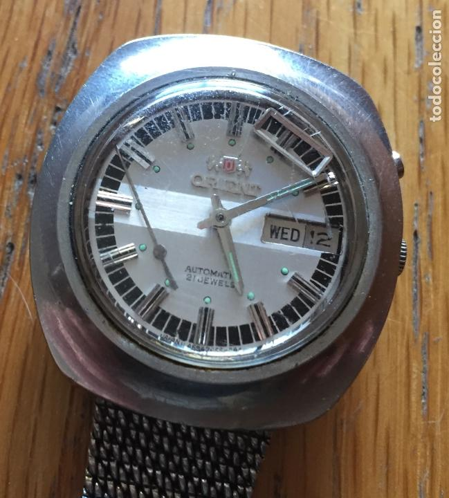 Relojes automáticos: RELOJ ORIENT VINTAGE, 21 jewels LEER - Foto 7 - 165843402
