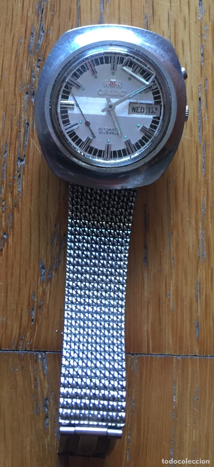 RELOJ ORIENT VINTAGE, 21 JEWELS LEER (Relojes - Relojes Automáticos)