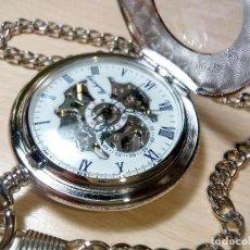 Relojes automáticos: RELOJ BOLSILLO AUTOMATICO. Lote 166439194