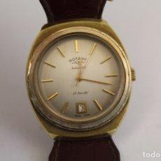 Relojes automáticos: RELOJ AUTOMÁTICO DE CABALLERO. MARCA ROTARY. FUNCIONANDO. SWISS MADE. . Lote 166971472