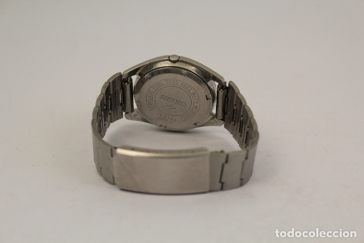 Relojes automáticos: RELOJ SEIKO AUTOMATIC 17 JEWELS 1D2230 JAPAN CON CALENDARIO. - Foto 2 - 166972664