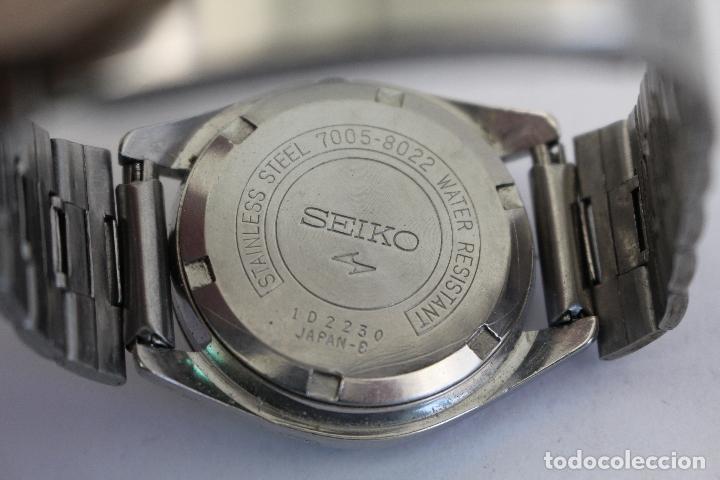 Relojes automáticos: RELOJ SEIKO AUTOMATIC 17 JEWELS 1D2230 JAPAN CON CALENDARIO. - Foto 3 - 166972664