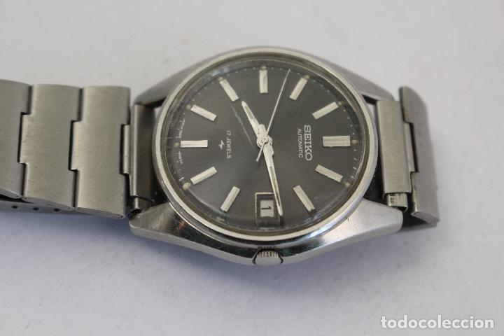 Relojes automáticos: RELOJ SEIKO AUTOMATIC 17 JEWELS 1D2230 JAPAN CON CALENDARIO. - Foto 4 - 166972664