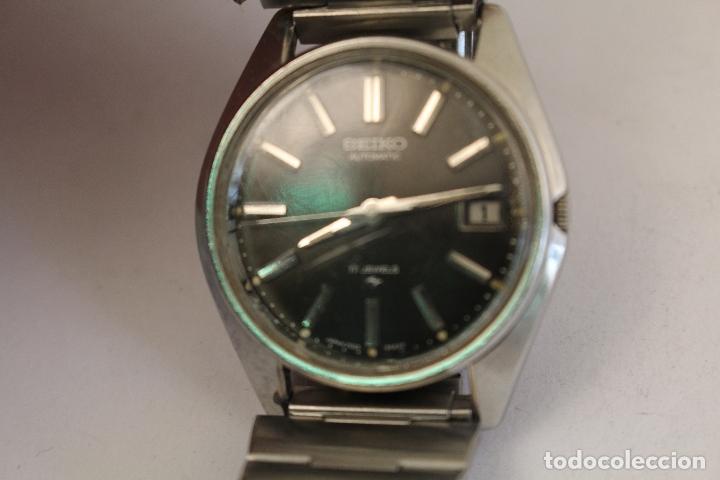 Relojes automáticos: RELOJ SEIKO AUTOMATIC 17 JEWELS 1D2230 JAPAN CON CALENDARIO. - Foto 5 - 166972664
