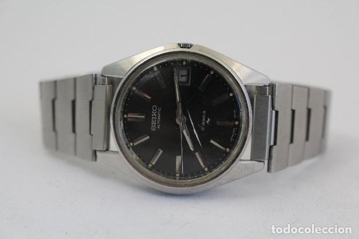 Relojes automáticos: RELOJ SEIKO AUTOMATIC 17 JEWELS 1D2230 JAPAN CON CALENDARIO. - Foto 7 - 166972664