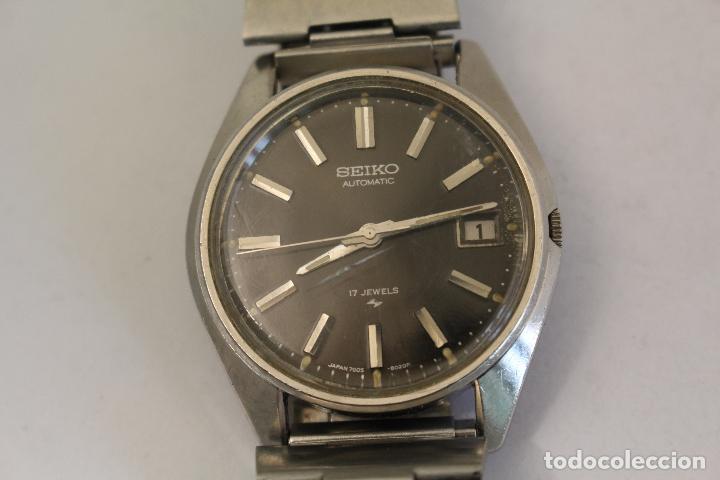 RELOJ SEIKO AUTOMATIC 17 JEWELS 1D2230 JAPAN CON CALENDARIO. (Relojes - Relojes Automáticos)
