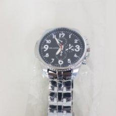 Relojes automáticos: ORLANDO RELOJ DE ESFERA GRANDE MAQUINARIA QUARTZ CORONA DE 4,5CMS. Lote 167013013