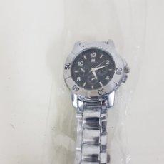 Relojes automáticos: IIK COLLECTION RELOJ CON ESFERA NEGRA Y MOVIMIENTO DE CORONA CON PILAS 4 CM CORONA. Lote 167013885