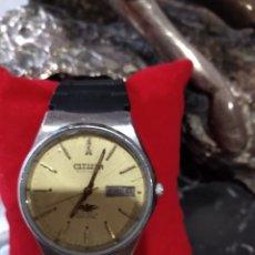 Relojes automáticos: RELOJ AUTOMÁTICO CITIZEN CRISTAL ( MUY ESCASO ). 21 JEWELS. MÁS RELOJES EN MÍ PERFIL. Lote 167077485