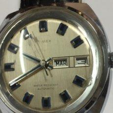 Relojes automáticos: RELOJ TIMEX AUTOMÁTICO DOBLE DIAL ESPECIAL ESFERA. Lote 167394752