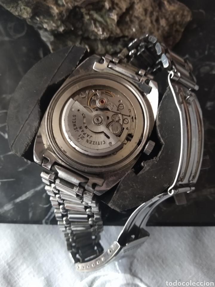 RELOJ AUTOMÁTICO CITIZEN (RARO CON AGUJAS ROJAS FLUORESCENTE ). MÁS RELOJES EN MÍ PERFIL. (Relojes - Relojes Automáticos)