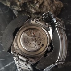 Relojes automáticos: RELOJ CITIZEN AUTOMÁTICO AGUJAS ROJAS. Lote 167601501