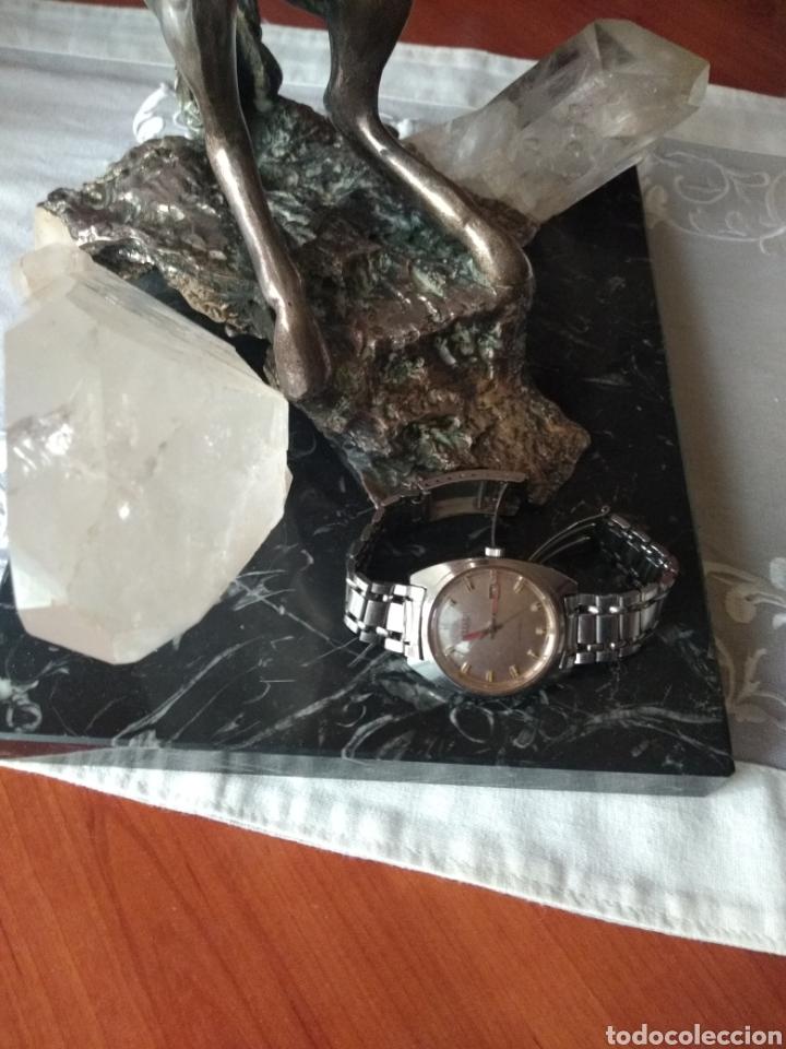 Relojes automáticos: RELOJ AUTOMÁTICO CITIZEN (RARO CON AGUJAS ROJAS FLUORESCENTE ). MÁS RELOJES EN MÍ PERFIL. - Foto 4 - 167601501