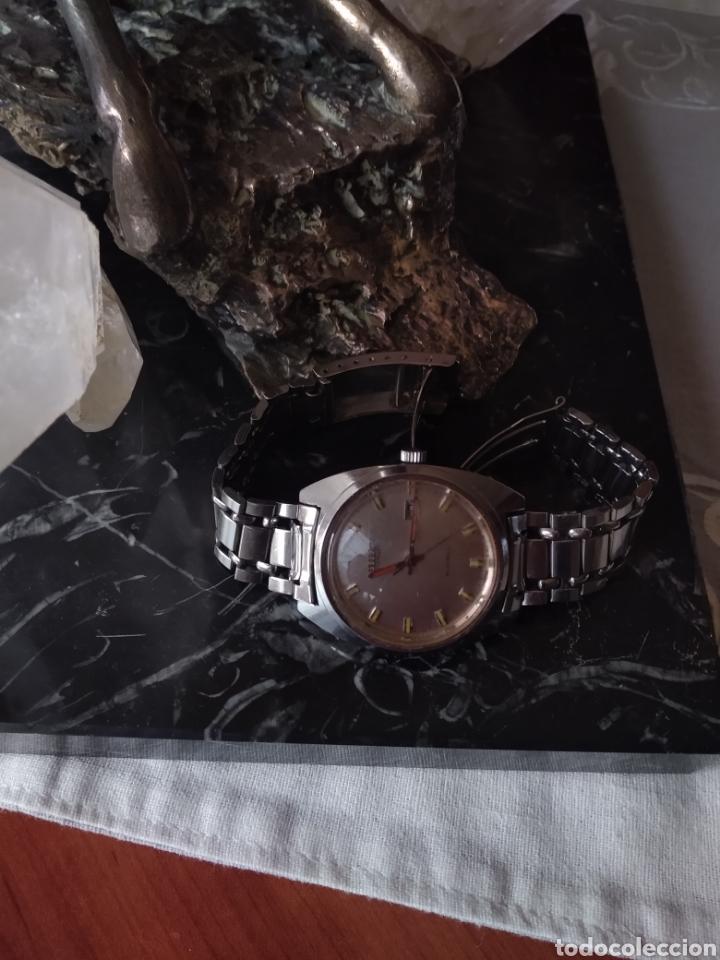 Relojes automáticos: RELOJ AUTOMÁTICO CITIZEN (RARO CON AGUJAS ROJAS FLUORESCENTE ). MÁS RELOJES EN MÍ PERFIL. - Foto 5 - 167601501