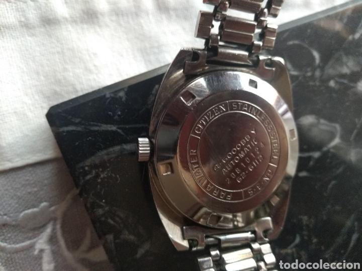 Relojes automáticos: RELOJ AUTOMÁTICO CITIZEN (RARO CON AGUJAS ROJAS FLUORESCENTE ). MÁS RELOJES EN MÍ PERFIL. - Foto 11 - 167601501