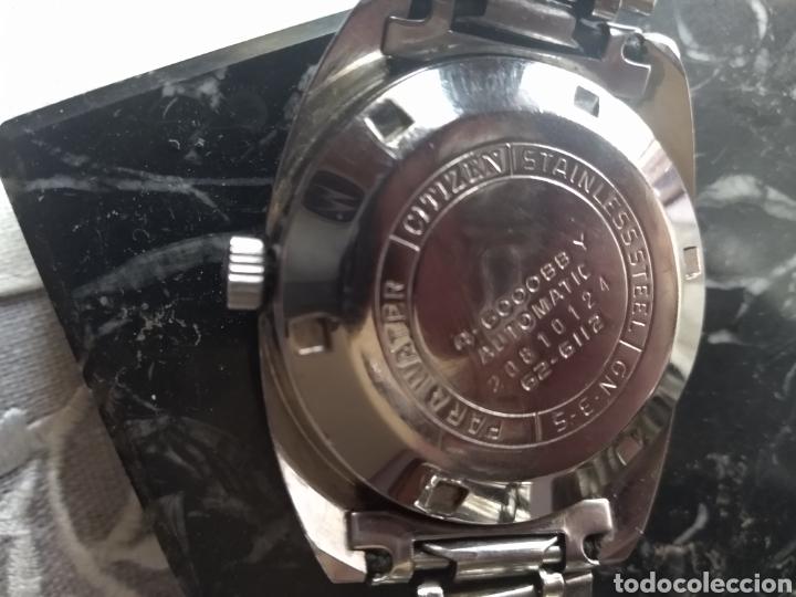 Relojes automáticos: RELOJ AUTOMÁTICO CITIZEN (RARO CON AGUJAS ROJAS FLUORESCENTE ). MÁS RELOJES EN MÍ PERFIL. - Foto 12 - 167601501