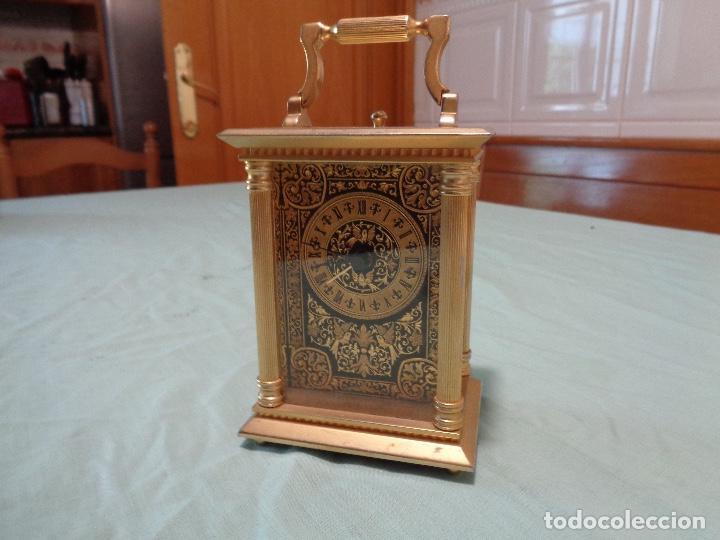 RELOJ SOBREMESA A PILAS ORO TOLEDO (Relojes - Relojes Automáticos)
