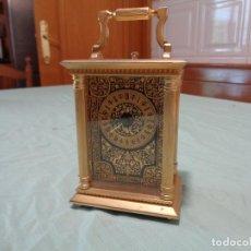 Relojes automáticos: RELOJ SOBREMESA A PILAS ORO TOLEDO. Lote 167777820