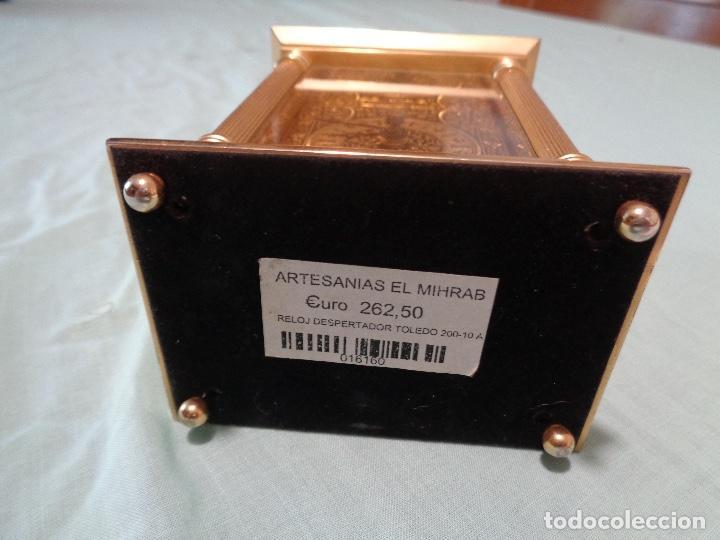 Relojes automáticos: reloj sobremesa a pilas oro Toledo - Foto 4 - 167777820