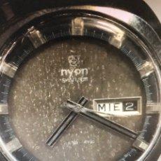 Relojes automáticos: RELOJ NYON AUTOMÁTICO ESFERA ESPECIAL CAJA ACERO MAQ UT 2780. Lote 167954637