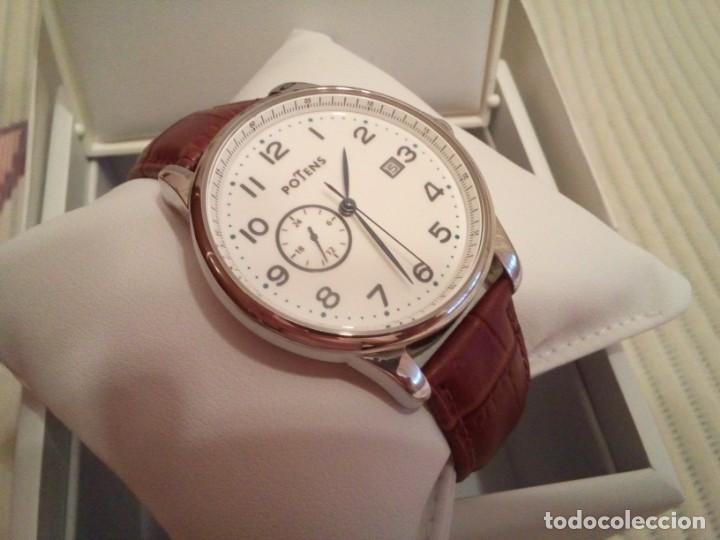 Relojes automáticos: Reloj automático Potens (maquinaria japonesa tipo Seiko, Citizen, Orient) - Foto 7 - 167962280