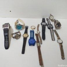 Relojes automáticos: LOTE DE 13 RELOJES SIN PROBAR, VER FOTOS PARA VER ESTADO. NO PROBADOS.. Lote 167991302