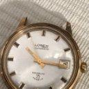 Relojes automáticos: RELOJ LOREM AUTOMÁTICO CALENDARIO 25 JEWETS VINTGE 34 MM. Lote 167998306