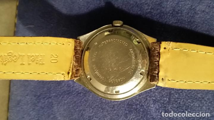 Relojes automáticos: RELOJ CABALLERO MARCA JUSTINA SUIZO AUTOMATICO 25 JEWELS - Foto 4 - 168149824