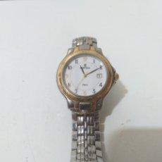 Relojes automáticos: RELOJ FESTINA MODELO PARIS. CORREA DE ACERO. NO FUNCIONA LA CUERDA, HAY QUE REPARAR.. Lote 168220044