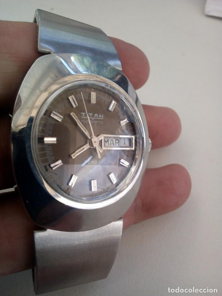 Relojes automáticos: Reloj Suizo Titán Tenox automático - Foto 4 - 168305372