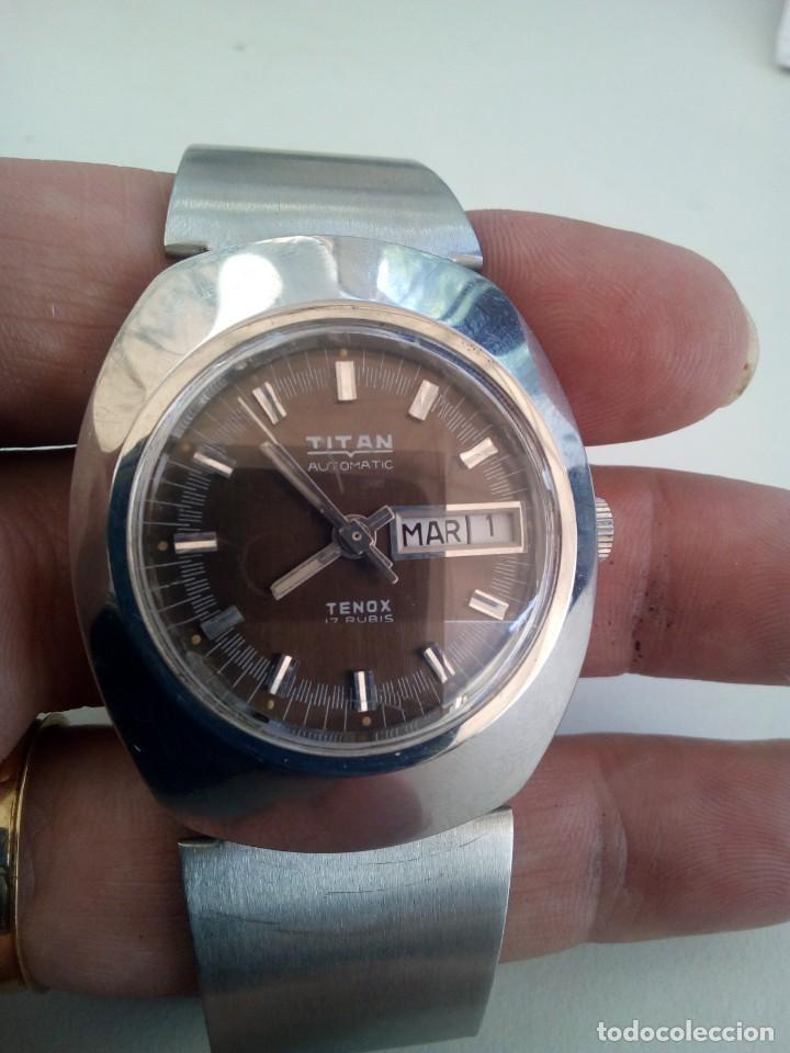 Relojes automáticos: Reloj Suizo Titán Tenox automático - Foto 5 - 168305372