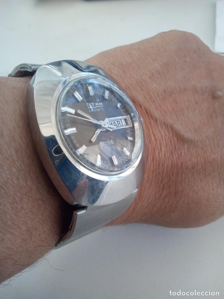 Relojes automáticos: Reloj Suizo Titán Tenox automático - Foto 9 - 168305372