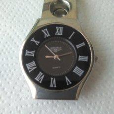 Relojes automáticos: RELOJ LONGINES DE QUARTZ SWISS MOVEMENT WÁTER RESISTANT FUNCCIONANDO. Lote 168335133