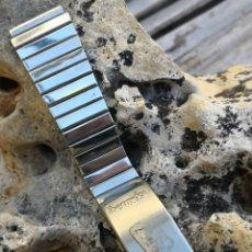 Relojes automáticos: CORREA VINTAGE RELOJES THERMIDOR NOS IMCOMPLETA. Lote 168523564