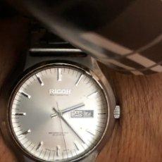 Relojes automáticos: RELOJ RICOH AUTOMÁTICO 21 JEWELS AÑOS 70 FUNCIONA PERFECTAMENTE. Lote 169938756