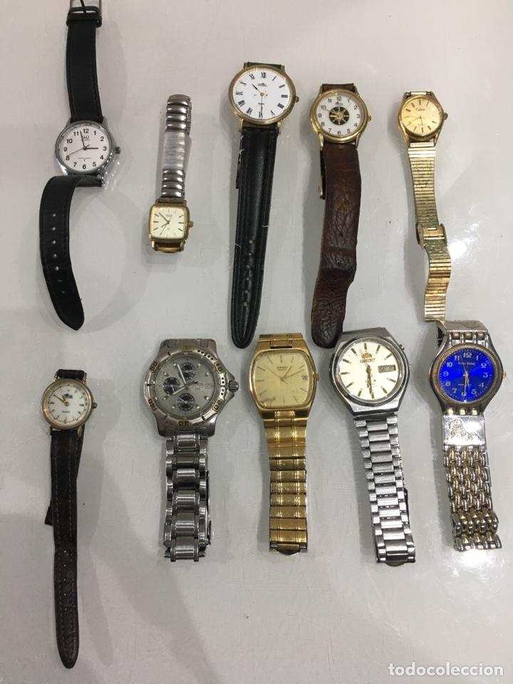 LOTE RELOJES VARIOS SEIKO ORIENT LOTUS PARIS DELON ETC (Relojes - Relojes Automáticos)