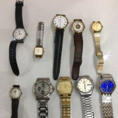 Relojes automáticos: LOTE RELOJES VARIOS SEIKO ORIENT LOTUS PARIS DELON ETC. Lote 169972306