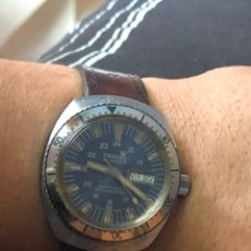Relojes automáticos: ANTIGUO RELOJ CRONEL 21 JEWELS SWISSO FUNCIONA PERFECTAMENTE. Lote 169980228