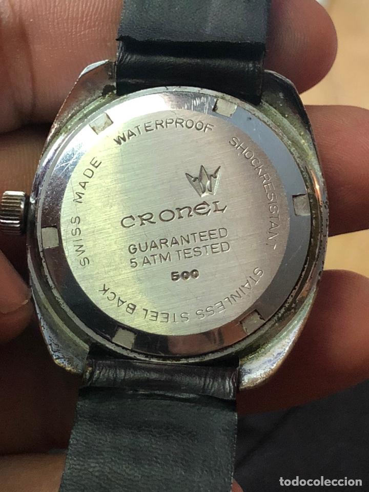 Relojes automáticos: Antiguo reloj cronel 21 jewels swisso funciona perfectamente - Foto 2 - 169980228