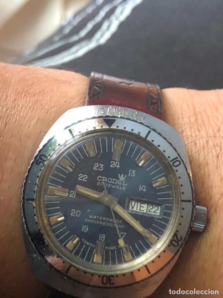 Relojes automáticos: Antiguo reloj cronel 21 jewels swisso funciona perfectamente - Foto 3 - 169980228