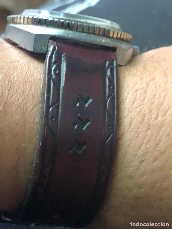 Relojes automáticos: Antiguo reloj cronel 21 jewels swisso funciona perfectamente - Foto 4 - 169980228