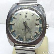 Relojes automáticos: RELOJ CLÁSICO FESTINA AUTOMÁTICO 25 JEWELS, SWISS MADE - CAJA 35 MM - FUNCIONANDO. Lote 170209496